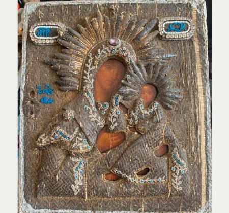 Икона Богородицы 18 век