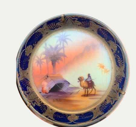 Тарелка - живопись 20 век