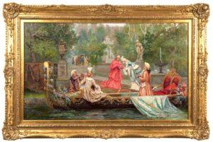 Покупка старинных картин России и Европы